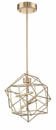 Lite Source LS-19854GOLD Stacia Modern French Gold LED Ceiling Light Pendant
