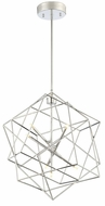 Lite Source LS-19855C Stacia Modern Chrome LED Ceiling Pendant Light