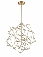 Lite Source LS-19856GOLD Stacia Modern French Gold LED Drop Lighting Fixture