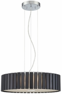 Lite Source LS-19868 Maxwell Modern Chrome Drum Pendant Light
