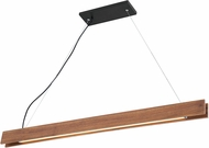 Lite Source LS-19901 Iryna Contemporary Wood LED Island Lighting