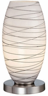 Lite Source LS-20855 Giacomo Modern Polished Steel Accent Lamp