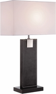 Lite Source LS-21282BLK-WHT Remigio Black / White Table Light