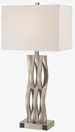 Lite Source LS-22075OTL Hamo II Modern Polished Steel Table Lighting