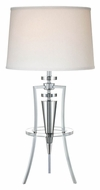 Lite Source LS-22097C Triocof Fluorescent 31 Inch Tall Living Room Table Lamp