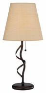 Lite Source LS-22230 Linette 27 Inch Tall Antique Gold Rubbed Bronze Table Light