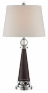 Lite Source LS-22300 Talia Modern Chrome Finish 30  Tall Table Light