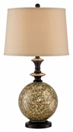 Lite Source LS-22302 Camilla Contemporary Dark Bronze Finish 16  Wide Table Lighting