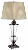 Lite Source LS-22307 Abel Gun Metal 30.5  Tall Living Room Table Lamp