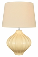 Lite Source LS-22314IVY Gordana Ivory 16 Inch Tall Ceramic Lamp Lighting