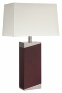 Lite Source LS-22321 Felice Walnut 15.5  Wide Table Lighting