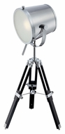 Lite Source LS-22337 Trey Chrome Finish Tripod Spotlight Table Top Lamp
