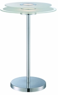 Lite Source LS-22368 Zsoka Modern Chrome LED Table Lamp