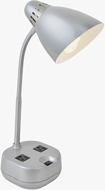 Lite Source LS-22375SILV Kade Modern Silver Craft Lamp