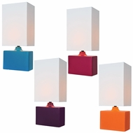 Lite Source LS-22378 Kara Modern 17.5  Tall Table Top Lamp