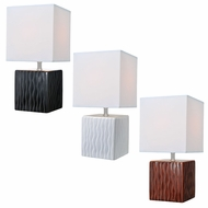 Lite Source LS-22379 Kube Contemporary 6.5  Wide Table Lamp