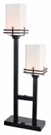 Lite Source LS-22382 Delores Black 9.5  Wide Lighting Table Lamp