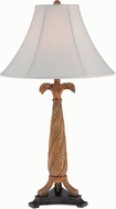 Lite Source LS-22409 Konani Walnut Fluorescent Table Top Lamp