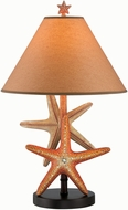 Lite Source LS-22415 Starfish Nautical Fluorescent Table Lighting
