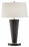 Lite Source LS-22433 Nabil Contemporary Polished Steel Finish 18  Wide Lighting Table Lamp