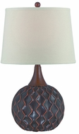 Lite Source LS-22460 Belita Dark Bronze Fluorescent Table Lamp