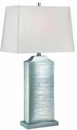 Lite Source LS-22514C Adora Contemporary Chrome Fluorescent Lighting Table Lamp