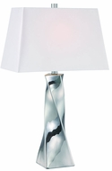 Lite Source LS-22517C Twila Contemporary Chrome Fluorescent Table Top Lamp