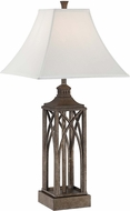 Lite Source LS-22563 Michele Champagne Silver Finish 31  Tall Table Lamp