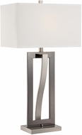 Lite Source LS-22570 Sandro Modern Black Finish 17  Wide Table Light