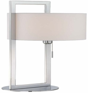 Lite Source LS-22630 Lucetta Modern Chrome Fluorescent Table Lamp