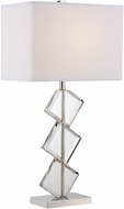 Lite Source LS-22692 Toussaint Polished Steel Table Lighting