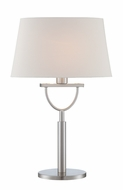 Lite Source LS-22730 Cargan Modern Chrome Fluorescent Table Light