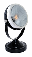 Lite Source LS-22737BLK Headlite Modern Black Mini Accent Spotlight