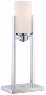 Lite Source LS-22811 Caesarea Modern Chrome Fluorescent Table Light