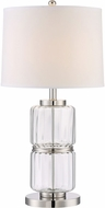 Lite Source LS-22816 Renate Chrome Fluorescent Table Lamp