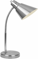 Lite Source LS-22952 Brushed Nickel Fluorescent Desk Lamp