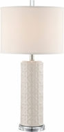 Lite Source LS-23055GREY Hackett Ceramic Grey Table Lamp Lighting