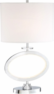 Lite Source LS-23074 Renia Ii Modern Chrome LED Lighting Table Lamp