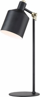 Lite Source LS-23098BLK Macall Contemporary Black Task Lamp