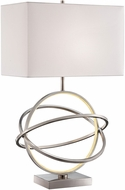 Lite Source LS-23167 Orville Modern Brushed Nickel LED Side Table Lamp