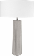 Lite Source LS-23175 Clementine Concrete Grey Table Lamp