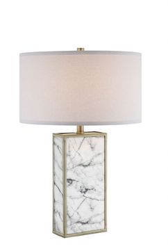 Lite Source LS-23177 Mollia Faux Marble Table Light