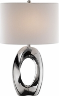 Lite Source LS-23184 Clover Modern Silver Table Top Lamp