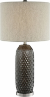Lite Source LS-23186 Covington Brown Side Table Lamp