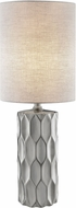 Lite Source LS-23190SILV Halsey Silver Lighting Table Lamp