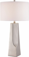 Lite Source LS-23199SILV Tyrell Silver Table Lamp
