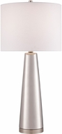 Lite Source LS-23200SILV Tyrone Silver Lighting Table Lamp