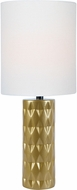 Lite Source LS-23203GOLD Delta Gold Table Top Lamp