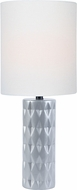 Lite Source LS-23203SILV Delta Silver Table Lamp