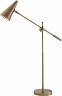 Lite Source LS-23217AB Tilman Contemporary Antique Brass LED Task Lamp